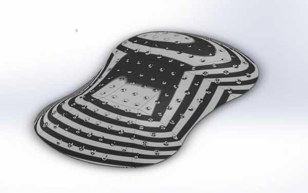 Toptan Teal Sport Üst Kapak - Çamadı (Golf Topu Stili) Plastik Aparat