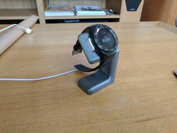 Toptan Huawei Watch 2 için şarj standı Aparatı Masaüstü Tutucu