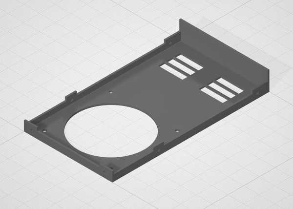 Toptan PSU Kapağı 92 mm Fan X5SA Tronxy 360W Dekoratif Aparat