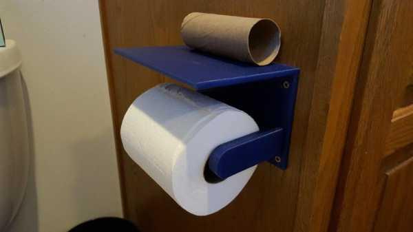Tuvalet Kağıdı Telefonu (Veya Diğer) Raf Plastik Aparat