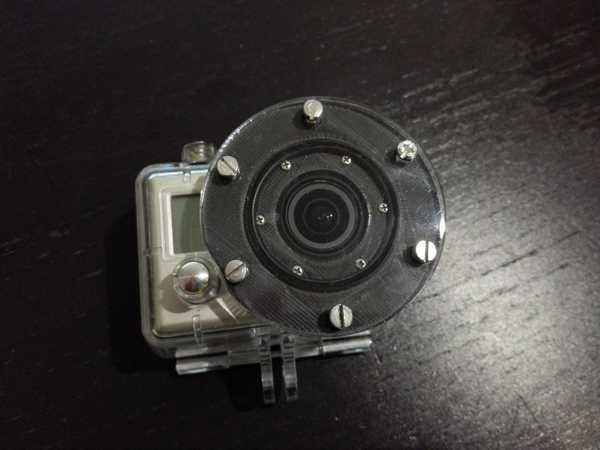 goPro Hero 2 Dalış Lensi su altı düz lens bulanıklık yok