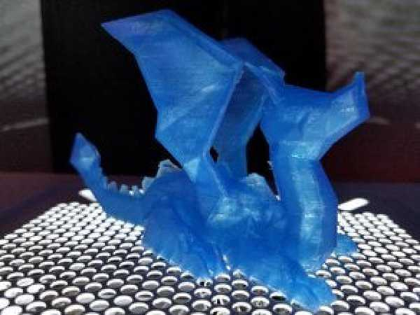 Oturan Ejderha  Organik Plastikten Biblo Dekoratif Hediyelik