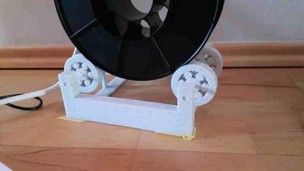 Filament Makara Tutucu Tam 3D Baskılı Plastik Aparat