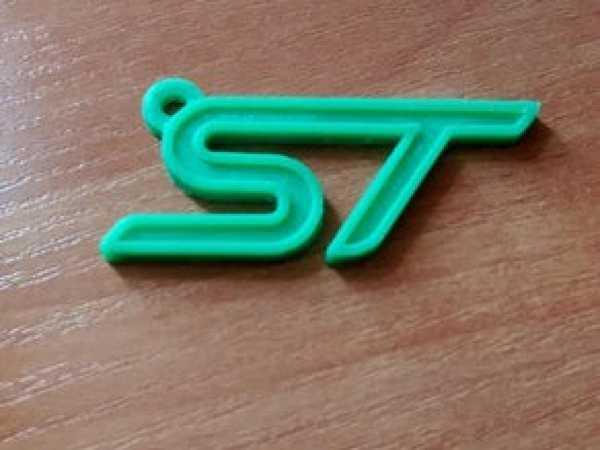Ford ST Amblemi Süs Eşyası Anahtarlık Araba Araç Akseauar