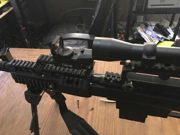 Toptan Kassnar / Armscor / Squire Bingham M16 Holografik Görüş İçin Yükseltici Plastik Aparat