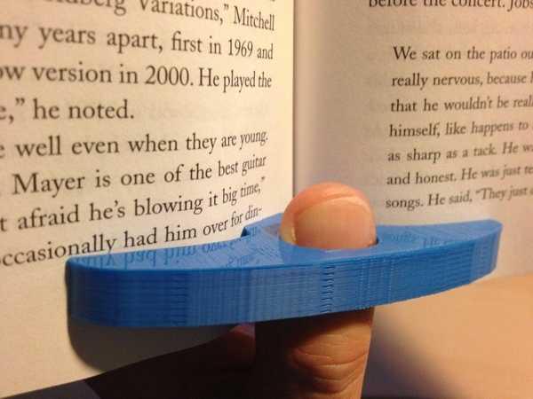 Kitap Okuma Sayfa Parmak Ayraç Tutucu Aparatı Sevgiliye Hediyelik