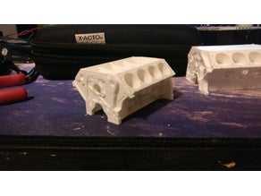 V8 Motor Tutarlı Normalleri  Organik Plastikten Aksesuar Aparat