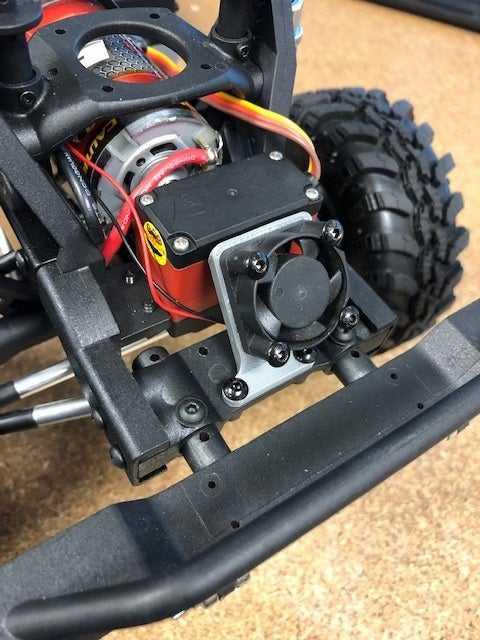 Redcat Gen 8 Servo Fan Montajı 25mm  Organik Plastikten
