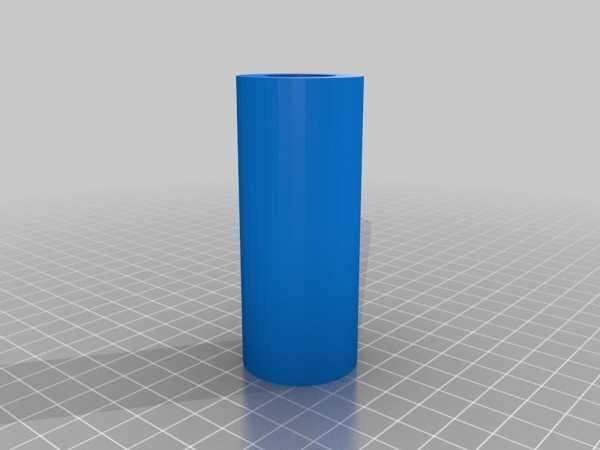 Toptan Torç için 18650'den çift D'ye pil adaptörü  Organik Plastikten