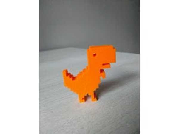 Dino Chrome Dekoratif Biblo Dekor Aksesuarı Hayvan Figürlü