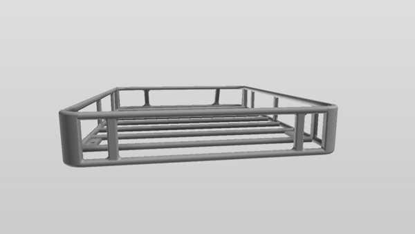 paletli tavan rayı sepeti Organizer Aksesuar Aparatı Tutucu Stand