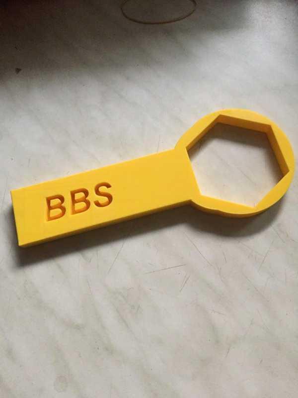 Toptan bbs rs anahtarı 80mm Aparat Tutucu Dekoratif  Organik Plastikten