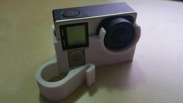 Flash Forge Creator Pro Hızlandırılmış GoPro 4/3 Kamera Tutucu
