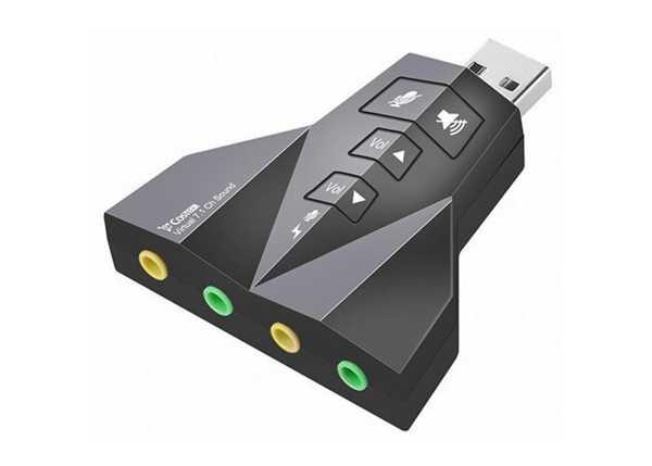 7.1 USB SES KARTI USB SOUND ADAPTÖR USB TO AUX ÇOĞALTICI ÇOKLAYIC