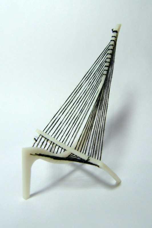 Hovelskov Harp Sandalye Plastik Aparat