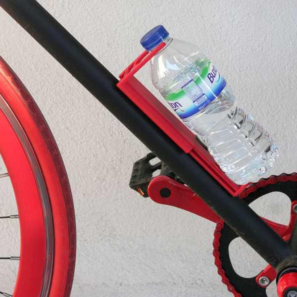 Bisiklet Suluk Matara Asma Aparatı Su Şişesi BEYAZ RENK
