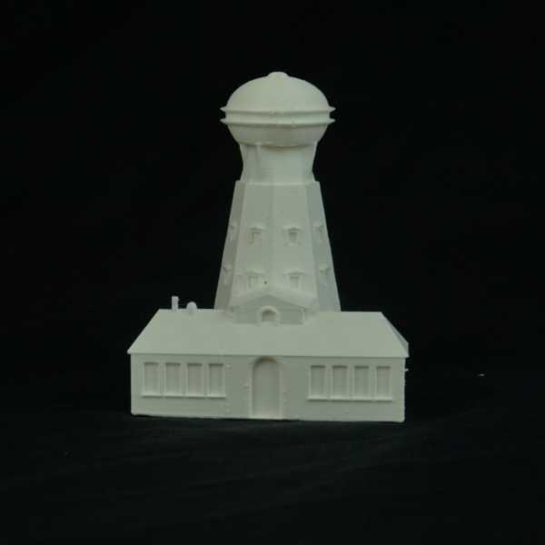 Nikola Tesla Kulesi Dekoratif Biblo Dekor Kule Hediyelik Süs