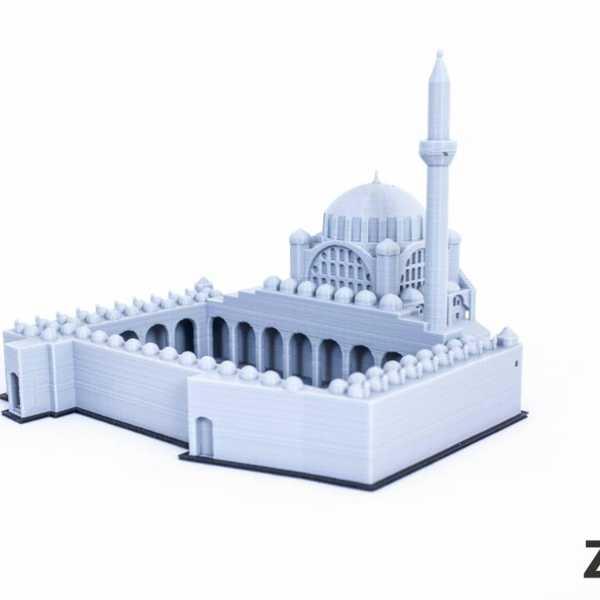 Toptan Mihrimah Sultan Camii Dekoratif Biblo Dekor Cami  Hediyelik Süs