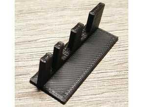 Toptan Mini NES Pi 3 Kasası için düğme ve led tutucu  Organik Plastikten