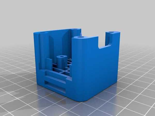 Ender 3 X-Axis Step Motor Damper Mount Cam Yükseltme Plastik Aparat