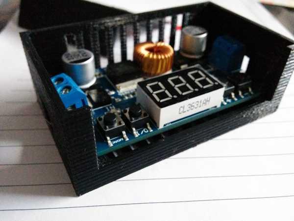 XL4015 4 düğmeli Stepdown dönüştürücü için kutu  Aparat