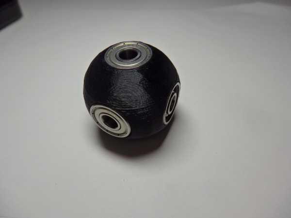 Sphere Fidget Spinner Plastik Aparat