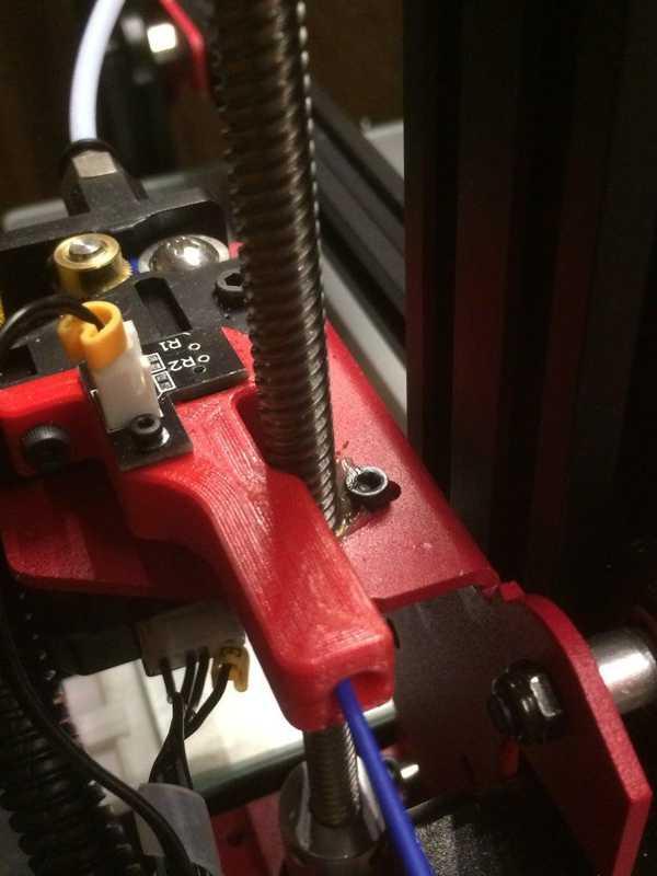 Kılavuz filament Alfawise U30  Organik Plastikten Aparat