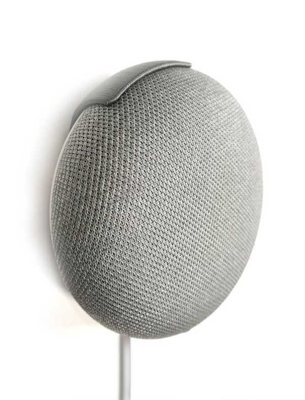 Toptan Google Home Mini İnce Duvara Montaj Asma Aparatı Aksesuar