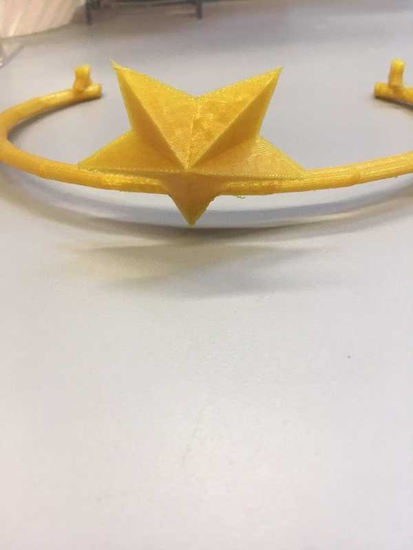 LSP   Yıldız  Şekilli  Taç   Aksesuar Yıldızlı Saç  Tacı Tokası