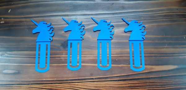 Toptan Unicorn Model Figür Kitap Ayıracı Aksesuar Süs Eşyası Dekoratif