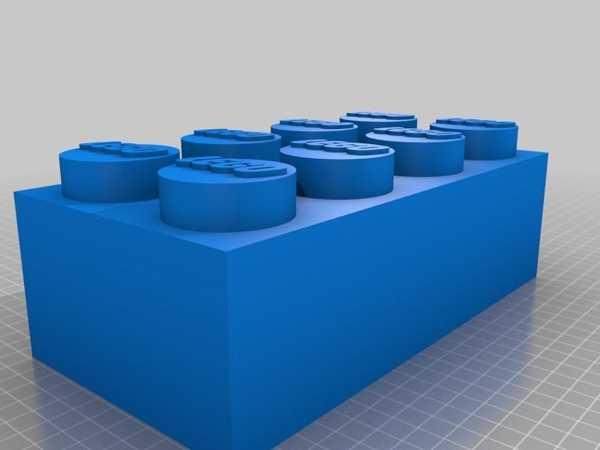 Toptan Lego Tuğla Doku Kutusu Plastik Aparat
