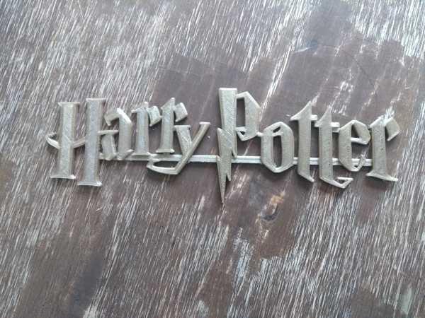 Harry Potter Logosu Dekoratif Biblo Dekor Hediyelik Süs Eşyası