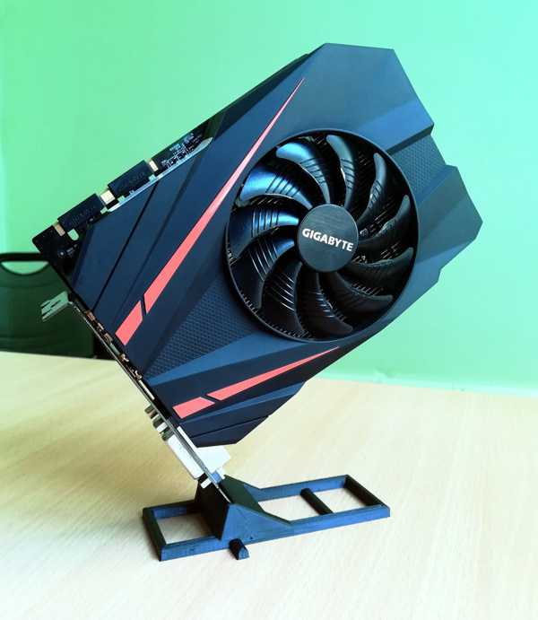 GPU standı PCI E kart standı çift yuvalı Organizer Aparat