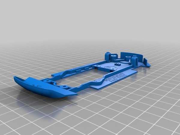 Toptan Superslot İçin Slot Araba Şasi / Scalextric Mg6 Btcc 1:32 Plastik Aparat