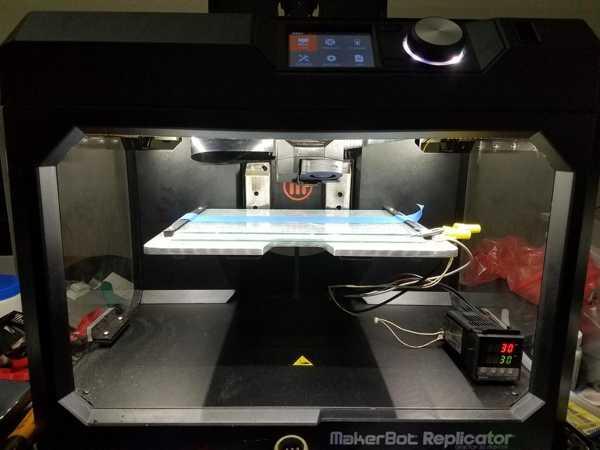 Toptan 5. Nesil Makerbot Replicator İçin Aydınlatma Plastik Aparat