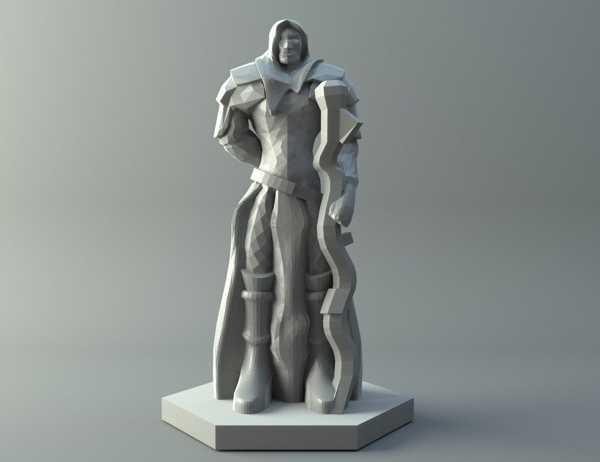 Elf büyücüsü Dungeons and Dragons Temalı Figür Model Maket