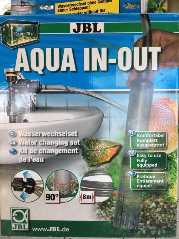 Bague Dökün Akvaryum Aqua-Out Jbl Plastik Aparat