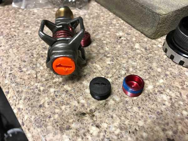 Toptan Krank Brothers Eggbeater Veya Şeker Pedalları İçin Endcap Plastik Aparat