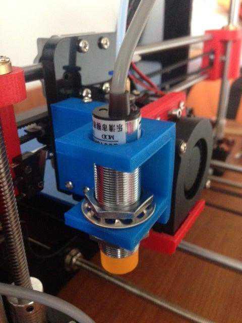 Tronxy P802e Endüktif / Kapasitif Sensör Montajı  Organik Plastik