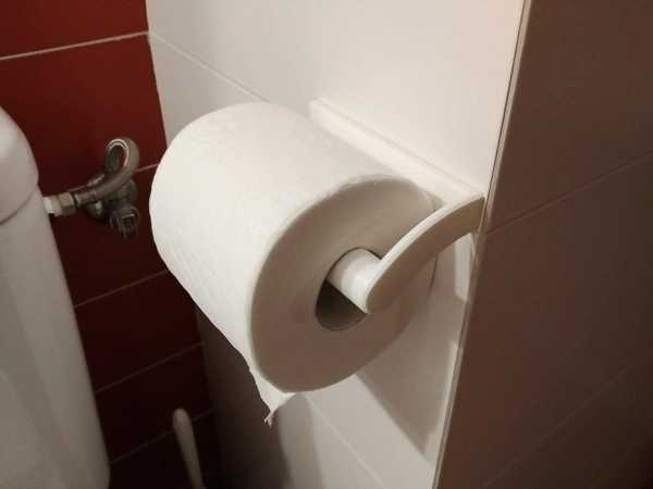 Tuvalet Kağıdı Tutacağı Plastik Aparat