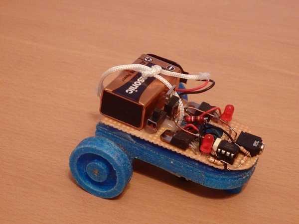 Minirobot Seguidor De Linea / Eğitim Robotu Plastik Aparat
