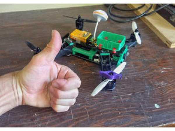 Quadcopter Pervane Anahtarı 10mm Organik Plastikten Aparat