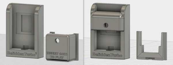 Delidder.Turbo² - Intel Cpu Delidding Aracı (& V1) Plastik Aparat