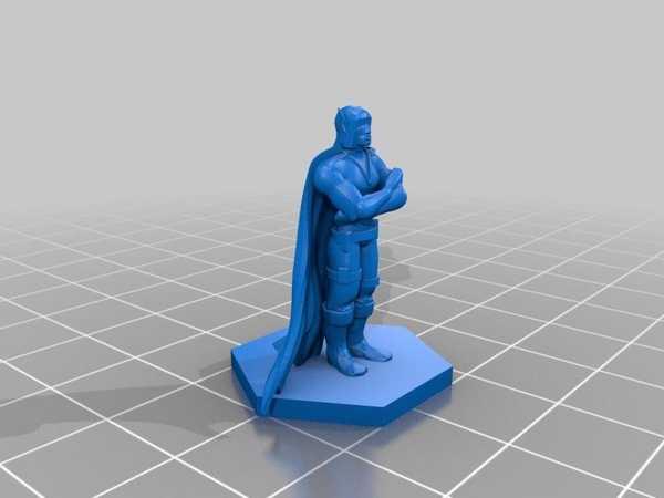 Hobbit Maceracısı - D&D Minyatürü Biblo Dekoratif Hediyelik Süs