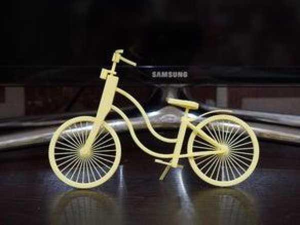 Bisiklet Dekoratif Biblo Dekor Hediyelik Süs Eşyası Masaüstü