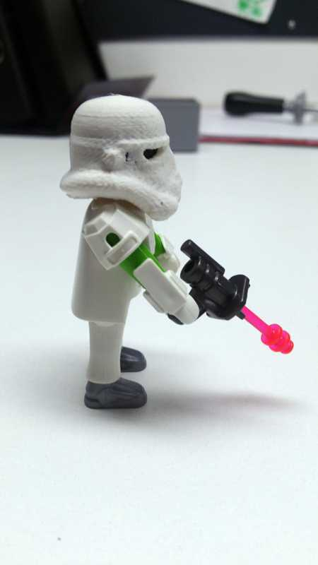 Playmobil Stormtrooper Kaskı Maske Dekoratif Süs Eşyası