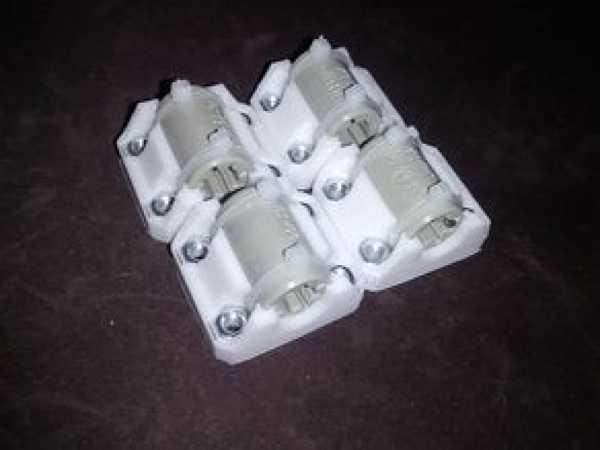 LM8UU Tutucu (SC8UU uyumlu) Organik Plastikten Aksesuar