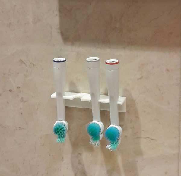 Oral-B Diş Fırçası Standı Tutucu Askısı Standı Aparatı Banyo