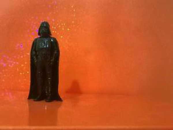 Star Wars Darth Vader Temalı Model Figür Dekoratif Süs Eşyası