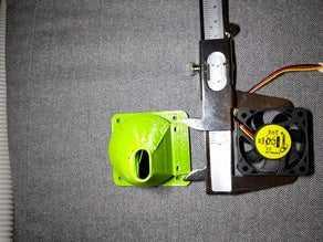 Geeetech i3 Pro B Soğutma Fanı Kanalı, 40 mm delikler (50 mm fan)